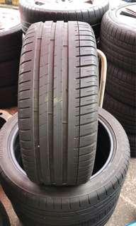 """4 X 225/40/18 Michelin PS3 18"""" Tyres (50% Threads)"""