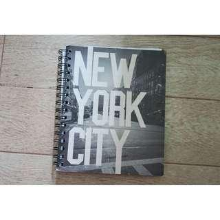TYPO LINED NOTEBOOK