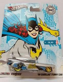 Hot Wheels Batgirl 59 Cadillac Funny Car