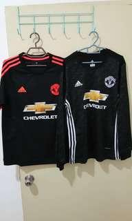 Combo Manchester United black kits