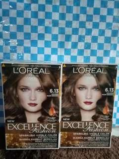 Loreal excellence golden nude brown