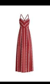 Bohemian Beach Tie Dress #PreCny60