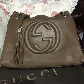 Original Gucci Soho Leather Chain (Authentic)