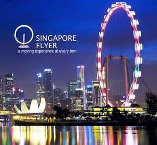 Singapore Flyer Fixed Date Eticket