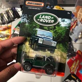 Matchbox Land Rover Series