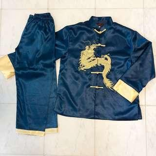 New Boy's Chinese New Year Mandarin Outfit Tang Suit