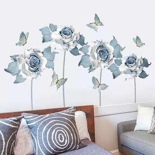 Roses Wall Decals/ Wall Stickers/Wallpapers