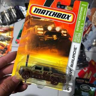 Matchbox Chevy Avalanche