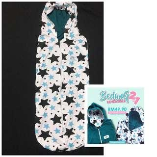 Swaddle in 2 sides ( Bedung Reversible )