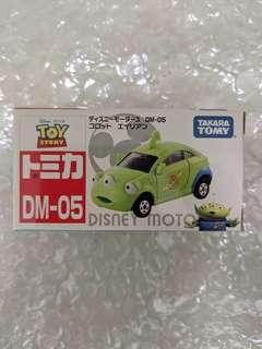🚚 Tomica Disney Motors DM-05 Corot Alien (BNIB)