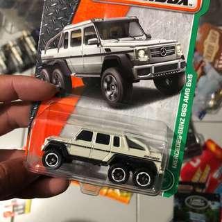 Matchbox Mercedes 6x6