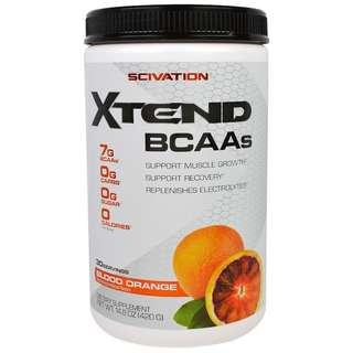 Scivation, Xtend BCAAs 支鏈氨基酸 血橙14.8oz 420g