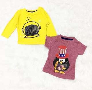 Penguin Tshirt Set