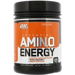 Optimum Nutrition Amino Energy 氨基酸能量粉 橙味 585g (65次)