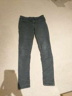 Size 8 Miss Shop skinny black jeans