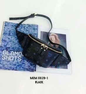 MCM Belt Bag Black