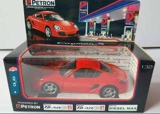 Petron Porsche Cayman S Diecast 1:32