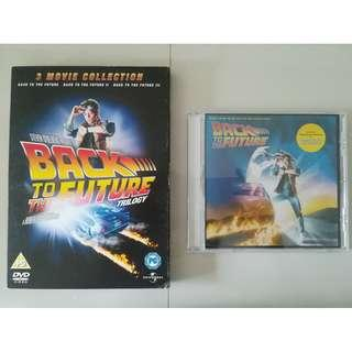 Back to the Future trilogy + soundtrack/OST