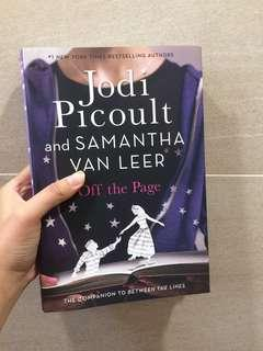 [BRAND NEW] Off the Page - Jodi Picoult & Samantha Van Leer