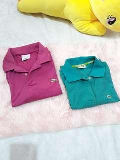 Take all! Couple Lacoste Polo Shirt