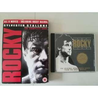 Rocky the complete saga + soundtrack/ost (1st movie)