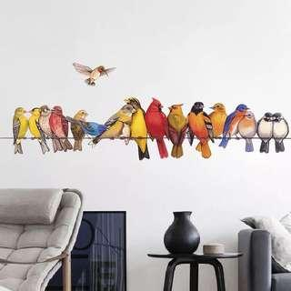 Birds Wall Decals / Wall Sticker