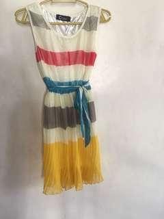 Marc Jacobs inspired striped summer dress