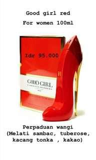 parfume Goodgirl by ch red