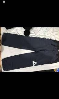 🚚 Palace 風褲長褲 兩件式夏天可當短褲穿 防水拉鍊 有瑕疵所以便宜賣