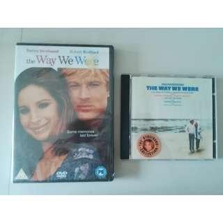 The Way We Were (Barbra Streisand) - DVD + Soundtrack/OST