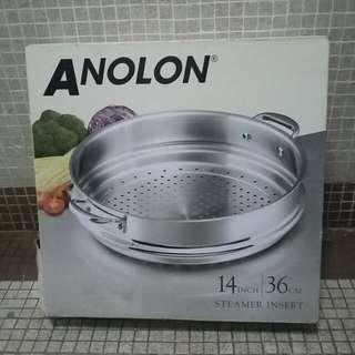 不鏽鋼蒸鍋  (新)没用过