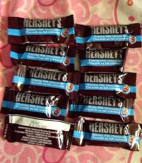 Hershey's Milk Chocolate by 10's