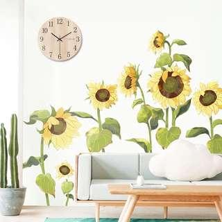 Sunflowers Wall decals/ Wallpapers Wall Stickers