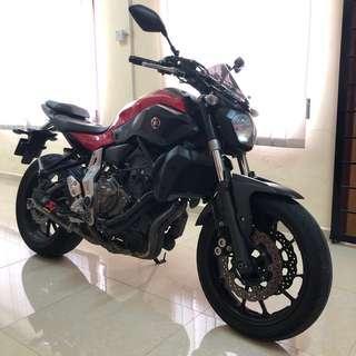 Yamaha MT07 2014 CBU