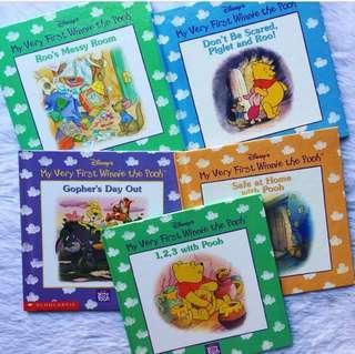 Winnie The Pooh Bear Preloved Story Books