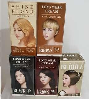 Missha Hair Colour (Authentic)