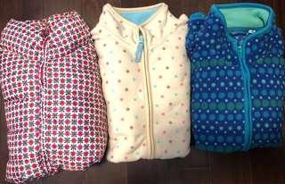 Uniqlo girls jacket ($80 for 3)
