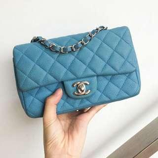 ** SOLD ** CHANEL CF Classic Flap New Mini (Rectangular) Flap (20cm)