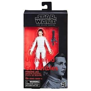 [In hand] Hasbro Star Wars The Black Series 6 inch – Princess Leia (Bespin) (Target exclusive) and Han Solo (Bespin)