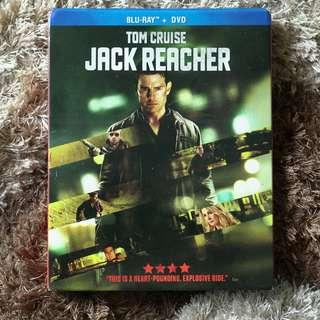 Jack Reacher Bluray + DVD (with slipcover)