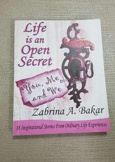 Life is an open secret