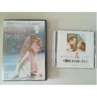 The Mirror has Two Faces (Barbra Streisand) - DVD +Soundtrack/OST