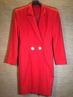 🚚 韓製 AS BOUTIRUE 羊毛大衣