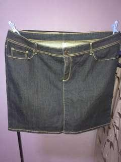 Denim skirt Plus size