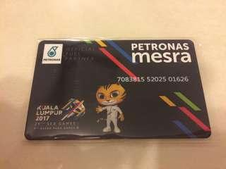 Limited Edition PETRONAS Mesra Card with Touch n Go function