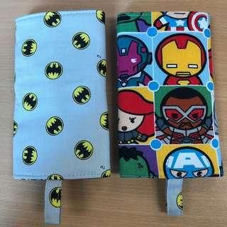 Reversible Drool Pads batman and marvel hero limited edition grey base baby carrier tula ergo lillebaby boba etc