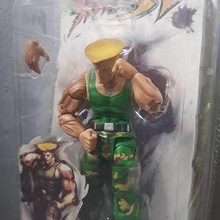 Street Fighter 4: Guile Action Figure