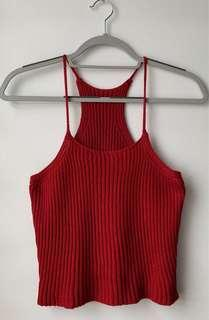 Spaghetti Knitted Top