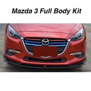 Mazda 3 Full Body Kit