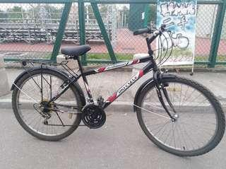 "26"" OKI-CYCLE 12速轉波 26吋代步單車"